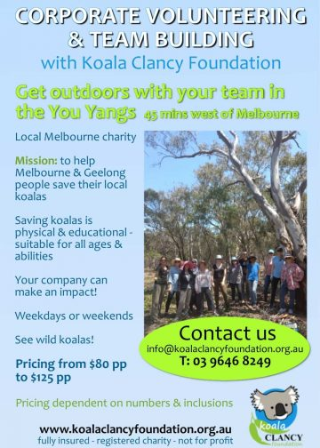 corporate tree planting melbourne