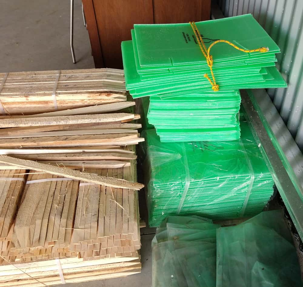 stakes guards for tree planting